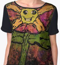 Fun Flower Women's Chiffon Top