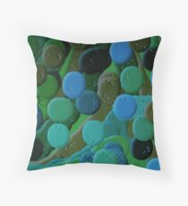 (BE GREEN FOREVER -A) ERIC WHITEMAN  Throw Pillow