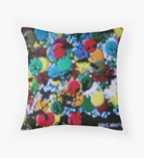 (COLOR MARCH ON) ERIC  WHITEMAN ART  Throw Pillow