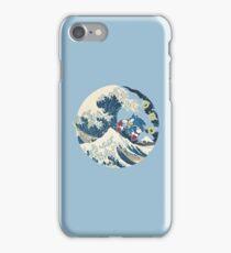 Sonic the Hedgehog - Hokusai iPhone Case/Skin