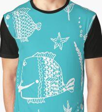 Underwater world seamless illustration Graphic T-Shirt