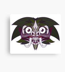 Demon Joker Canvas Print