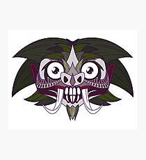 Demon Joker Photographic Print