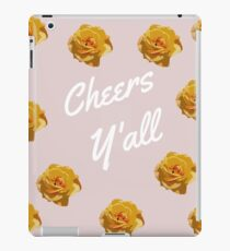 Cheers Y'all iPad Case/Skin