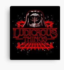 Ludicrous Things Canvas Print