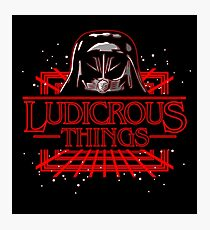 Ludicrous Things Photographic Print