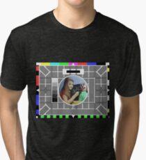 Test Card F Tri-blend T-Shirt