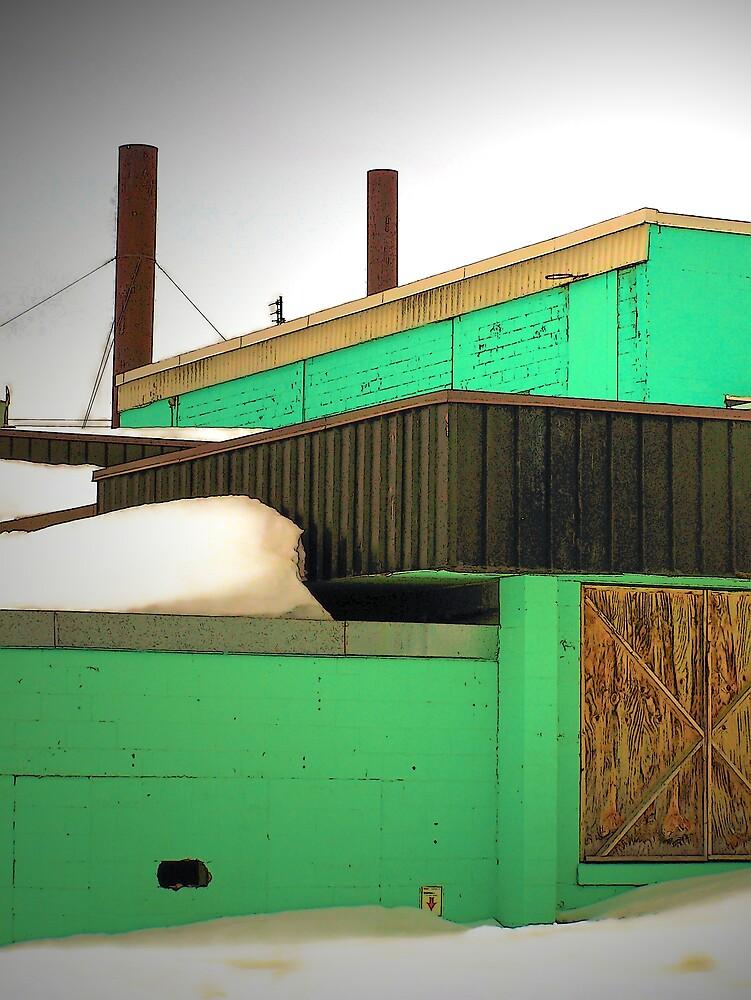Idle Factory by Gene Cyr