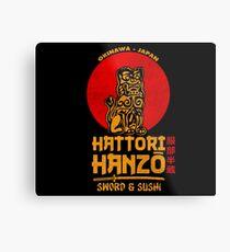 Hattori Hanzo Metalldruck