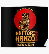 Hattori Hanzo Poster