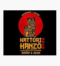 Hattori Hanzo Fotodruck