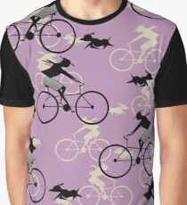 Girls on Bicycles  Graphic T-Shirt