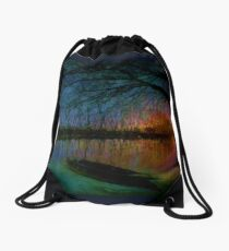 At The Crack Of Dawn Drawstring Bag
