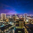 Fort Worth Skyline at Twilight by josephhaubert