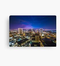 Fort Worth Skyline at Twilight Canvas Print