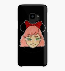 Pink Girl 1 Case/Skin for Samsung Galaxy