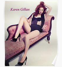 Karen Gillan Poster