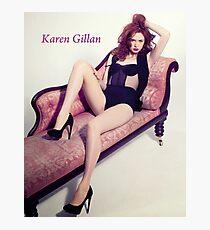 Karen Gillan Photographic Print