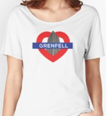 Grenfell tower Women's Relaxed Fit T-Shirt
