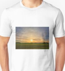 Spring Sunrise Halo Unisex T-Shirt