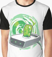 Rick and Morty / Portal Gun Graphic T-Shirt