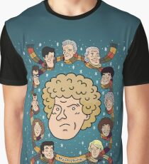 My Doctor is... The Sixth Doctor  Graphic T-Shirt