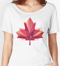 Canada 150 // Warm Women's Relaxed Fit T-Shirt