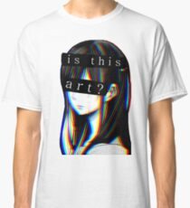 Is this Art Sad japanese aesthetic  Classic T-Shirt