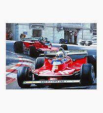 Monaco GP, 1979 Photographic Print