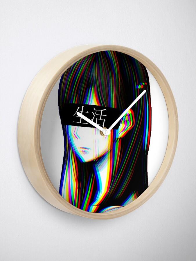 Is This Art Sad Japanese Aesthetic Japanese Version Clock