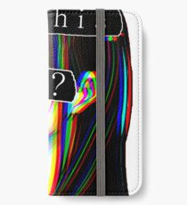 IS THIS ART? SAD JAPANESE AESTHETIC (White border) iPhone Wallet/Case/Skin