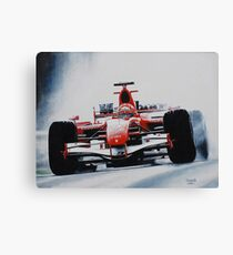 Michael Schumacher, Win 91 Canvas Print