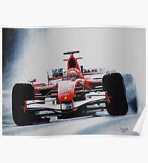 Michael Schumacher, Win 91 Poster