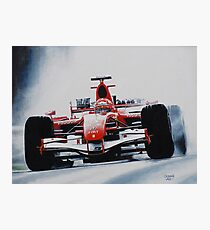 Michael Schumacher, Win 91 Photographic Print