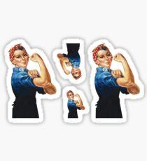 Rosie and Polka Dots Sticker