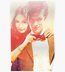 Matt Smith and Karen Gillan Poster