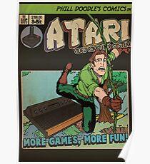 Retrorama Atari 2600 Poster