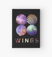 BTS nebula Hardcover Journal