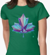 Canada 150 // Cool Womens Fitted T-Shirt