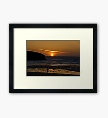 Catch It If You Can. Framed Print