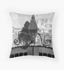 Queen Street Gas Lamp #1 Throw Pillow