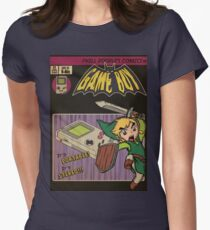Retrorama Game boy Womens Fitted T-Shirt
