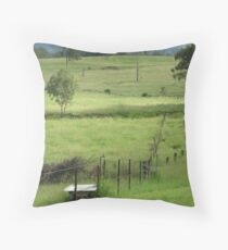 paddocks Throw Pillow