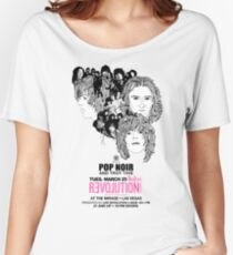 Pop Noir Las Vegas Women's Relaxed Fit T-Shirt