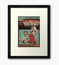 Retrorama NES Framed Print