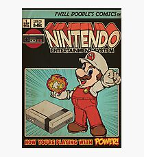 Retrorama NES Photographic Print