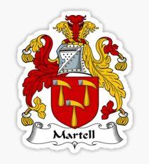 Martell Sticker