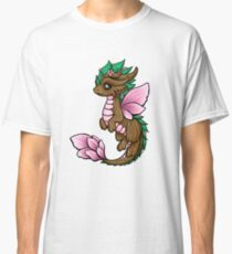 Flower Dragon Elemental Classic T-Shirt