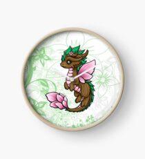 Flower Dragon Elemental Clock