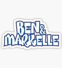 Ben & Markelle Alt Sticker